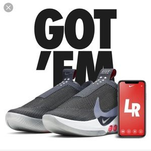 BNIB Nike Adapt BB E.A.R.L Dark Grey Sz 10.5🔥🔥